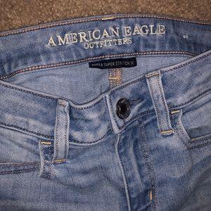 """American Eagle """"Super Super Stretch"""" Skinny Jeans"""